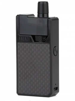 Kit Geekvape Frenzy Black Carbon Fiber Tip POD, 950 mah, Optimizat Nicsalts