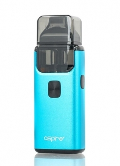 Kit Tigara Electronica AIO Aspire Breeze 2 Blue, 1000 mAh, 2 ml Tank MTL / DTL, 2 Rezistente 0.6 si 1 Ohm incluse, Tip POD
