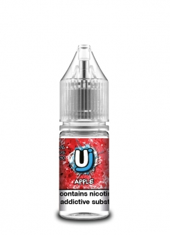Lichid Tigara Electronica cu Nicotina Ultimate Juice Apple 10ml, TPD, 50/50, calitate Premium, Fabricat in UK