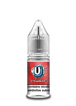 Lichid Tigara Electronica cu Nicotina Ultimate Juice Strawberry 10ml, TPD, 50/50, calitate Premium, Fabricat in UK