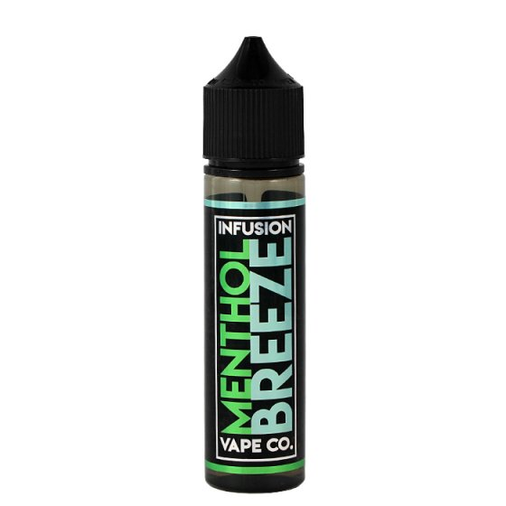 Lichid Tigara Electronica Infusion Vape Co Menthol Breeze, 50ml, Fara Nicotina, 50%VG / 50%PG, Fabricat in UK