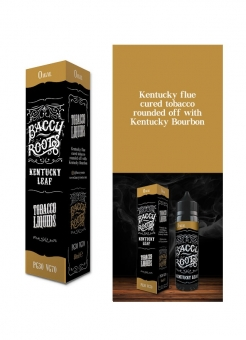Lichid Tigara Electronica Premium Baccy Roots Kentucky Leaf, 50ml, Fara Nicotina, 70VG / 30PG, Fabricat in UK, Shortfill 60ml