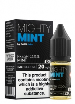 Lichid Tigara Electronica Premium cu NicSalts VGOD Mighty Mint, 10ml, cu Nicotina, 50VG / 50PG, Fabricat in USA