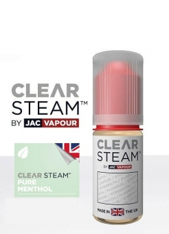 Lichid Tigara Electronica Premium Jac Vapour Clear Steam Pure Menthol 10ml, Cu Nicotina , High PG, Fabricat in UK