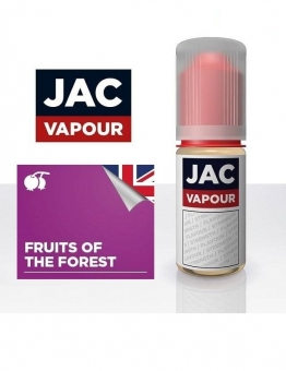 Lichid Tigara Electronica Premium Jac Vapour Fruits of The Forest 10ml, cu Nicotina, VG/PG, Fabricat in UK