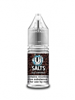 Lichid Tigara Electronica Ultimate Juice Salts Old Virginia, 10ml, cu Nicotina, 50VG / 50PG, Fabricat in UK, Calitate Premium
